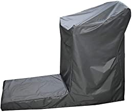 QEES Non-Folding Treadmill Cover, Heavy Duty UV and Water Resistant Running Machine Protective Cover, Sports Protective Folding Cover, Indoor/Outdoor Cover PBJZ01