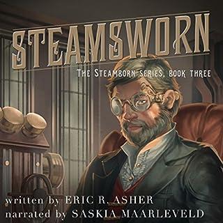 Steamsworn audiobook cover art