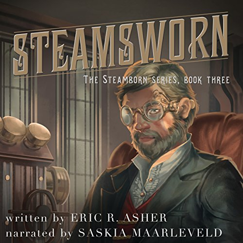 Steamsworn audiobook cover art
