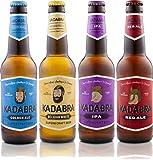 Cerveza KADABRA Pack degustación 12 unidades de 33cl