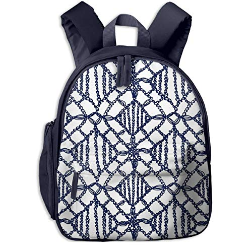 Kinderrucksack Kleinkind Jungen Mädchen Kindergartentasche Häkeln Stricken Blumenspitze Backpack Schultasche Rucksack