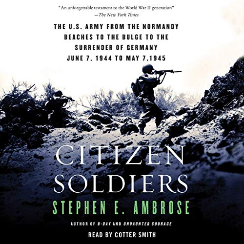 Page de couverture de Citizen Soldiers