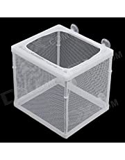 B&K BOYU NB-3201 Net Breeder for Aquarium Fish Tank Separate Roe, Isolate Injured Fish, Hatchery Box