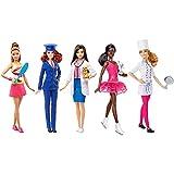 Poupée Barbie - Coffret de 5 poupées Métiers