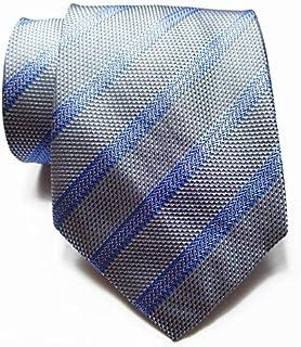 XXYHYQHJD 9 Centimetri a Righe Legame degli Uomini Cravatta di Seta Set Red bliue Nero Grigio 100% degli Uomini di Seta de...