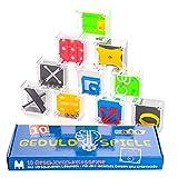 Magicat Premium Geduldspiele Set, 10 Knobelspiele, perfekt als Geschenk für Kindergeburtstagg, Mini Spiele, Mitgebsel nach einer Kinderparty