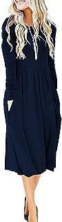 Best long sleeve loose dress Reviews