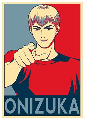 Instabuy Poster GTO Propaganda Onizuka (Variant) - A3 (42x30 cm)