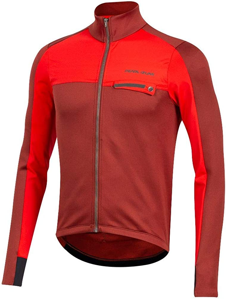 PEARL IZUMI It is very popular Men's Interval Max 81% OFF Cycling Jersey Thermal