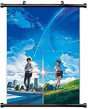 Your Name (Kimi no Na wa) Anime Fabric Wall Scroll Poster (16x23) Inches