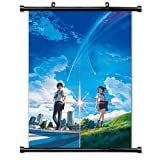 MovieWallscrolls Your Name Kimi no NA Wa Stoffposter/Rollposter, 40,6 x 58,4 cm