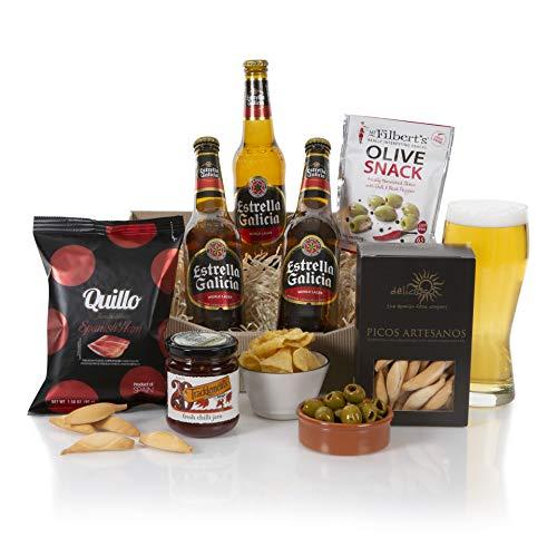 Spanish Beer Hamper - Beer Hampers and Gift - Estrella Beer Gift Hamper & Gift Baskets