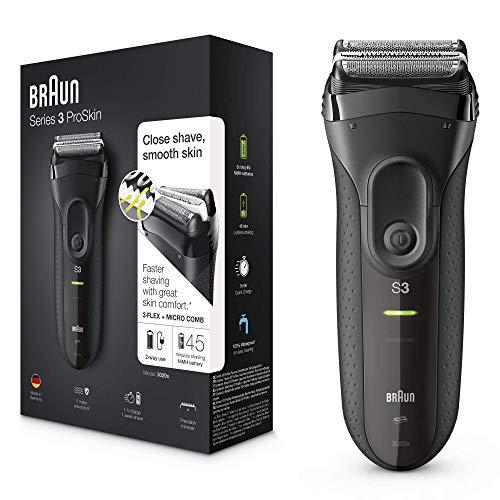 Braun Series 3 ProSkin 3020s Afeitadora Eléctrica Hombre, Afeitadora Barba...