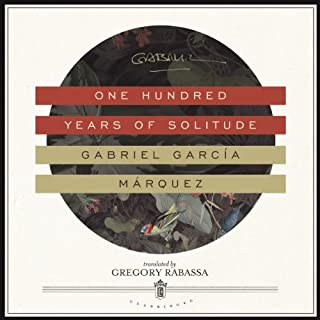 One Hundred Years of Solitude                   By:                                                                                                                                 Gabriel García Márquez,                                                                                        Gregory Rabassa - translator                               Narrated by:                                                                                                                                 John Lee                      Length: 14 hrs and 4 mins     412 ratings     Overall 4.0