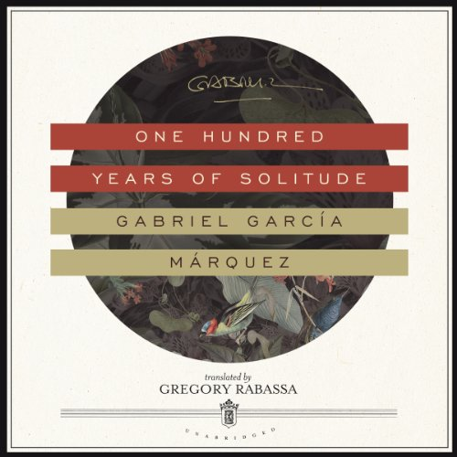 One Hundred Years of Solitude                   Written by:                                                                                                                                 Gabriel García Márquez,                                                                                        Gregory Rabassa - translator                               Narrated by:                                                                                                                                 John Lee                      Length: 14 hrs and 4 mins     37 ratings     Overall 4.3
