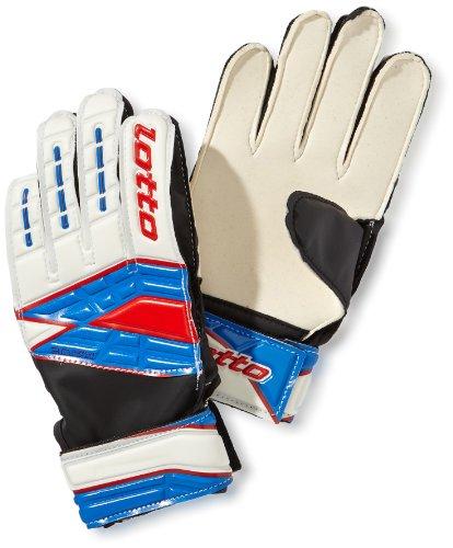 Lotto Sport Jungen Handschuhe Glove Gripster GK900 III JR, White/Blue, 7, Q7834