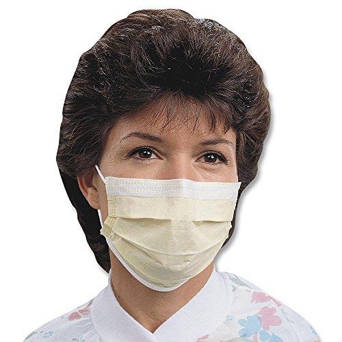 Halyard (KC Healthcare) KC-47117 Tecnol Ear Loop Procedure Masks (Pack of 50)