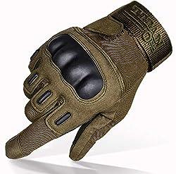 TitanOPS Hard Knuckle Outdoor Gloves