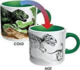 The Unemployed Philosophers Guild Disappearing Dino Mug - Heat Sensitive Color Changing...