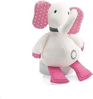 """Lulu the White & Pink Elephant - 12"""" - Plush Gund Toy"""