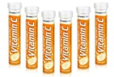 120 Vitamin C Orange 1000mg Effervescent Tablets *6 Packs of 20* HIGH Strength