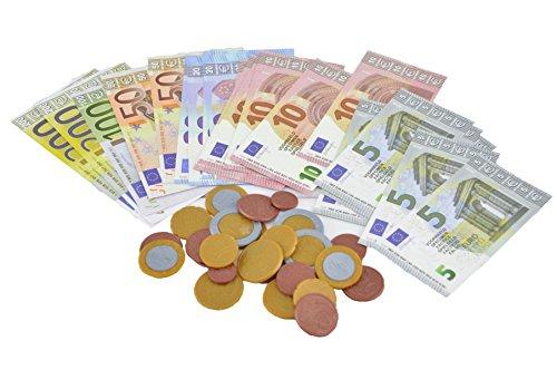 - Spielgeld-Set - 52-teilig - für den Kaufladen oder die Kinderküche. Insgesamt 1122€