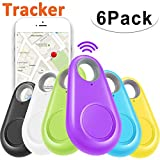 GBD 6 Pack Smart Key Finder Locator GPS Tracking Device for Kids Boys