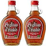 Le Bio-Monde Grade B Sirop d'Érable 250 ml - Lot de 2
