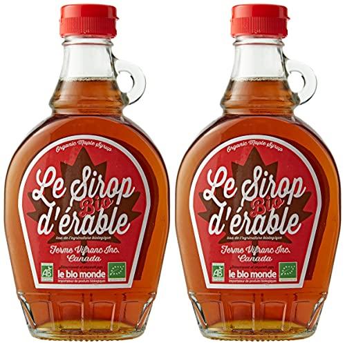Le Bio-Monde Grade B Sirop d'Érable 250 ml - Lot...