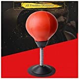 YMOND Desktop Punching Bag Adult Stress Relief Ball Office Gifts Speed Bag Stress Buster Strongest Suction Cup