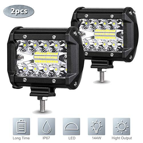 LED Arbeitsscheinwerfer, 2Pcs 4