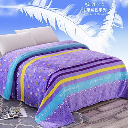 Espesor de la manta de franela dormitorio para estudiantes antiestático otoño e invierno manta doble para oficina aire acondicionado manta de viaje manta de viaje 2017150cm * 200cm13 kg, Chanel _150c