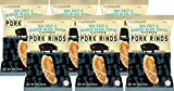 Southern Recipe Small Batch Pork Rinds | Sea Salt & Cracked Black Pepper | Keto Friendly, Gluten Free, Low Carb Food | 7g Collagen Per Serving | High Protein | 4 Oz Bag (Pack of 6)