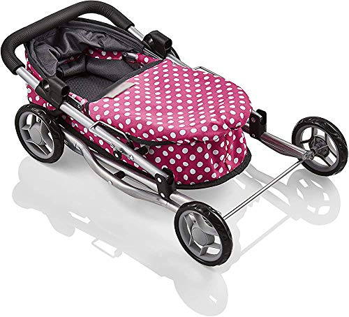 Mini cochecito diseño elegante dot mini-coches de bebé, cochecitos,Pink