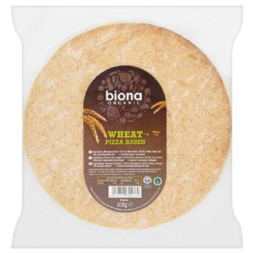 Biona Organic 2 Vollkorn Pizza Bases 300g