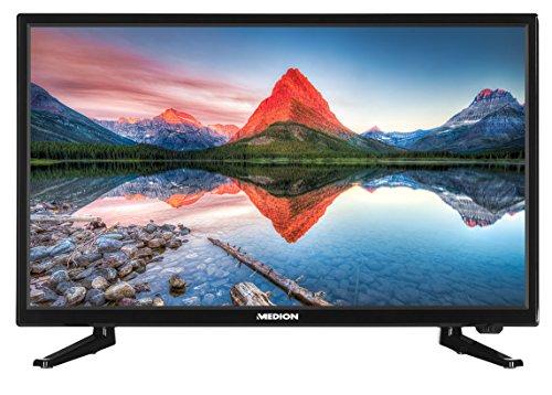 Preisvergleich Produktbild MEDION LIFE P13175 MD 21442 54, 6 cm (21, 5 Zoll Full HD) Fernseher (LCD-TV mit LED-Backlight,  Triple Tuner,  DVB-T2,  HDMI,  CI+,  USB,  Mediaplayer) schwarz