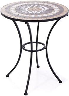 Tavolo Da Giardino In Ferro E Mosaico.Amazon It Tavolo E Sedie Da Giardino Mosaico Tavoli E
