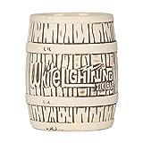 550ml Tiki Mugs Copa de cóctel - Barril de ron pirata Tiki - Copas de cóctel exóticas - Artículos profesionales de bar para fiestas hawaianas - Para cócteles, vinos, cervezas, bares, fiestas