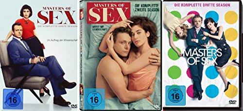 Masters of Sex - die komplette Staffel 1-3 im Set - Deutsche Originalware [12 DVDs]