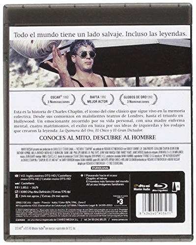 Chaplin - Ausgabe zum 20-jährigen Jubiläum [Blu-ray]...