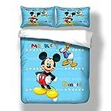LHOUSSAINE Duvet Cover - Bed Linen Set Adult Kids Boys Mouse 3D Bedding Set Queen King Size Duvet Cover Set Bedroom Sets Comfortable - by 1 PCs