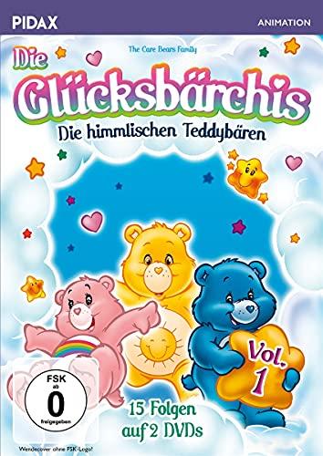 Die Glücksbärchis - Die himmlischen Teddybären, Vol. 1 / Die ersten 15 Folgen der beliebten Kult-Serie (Pidax Animation) [2 DVDs]