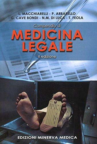 Compendio di medicina legale