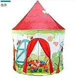 Humanity Reisen to Castle Zelte, Castle House Palace Zelt Kinderspielhaus, Schloss Indoor- und Outdoor tragbare Spielzeug der Kinder Zelte, die Faltbare Kinderspiel Zelte for Jungen und Mädchen
