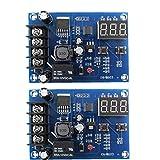 Carga de la batería del módulo de conmutador Junta XH-M603 12-24 Control de Voltaje de carga Protección de pantalla 2 piezas, Componentes