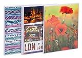 Exacompta 65003E album fotografico con motivi casuali, 17,5 x 23 cm