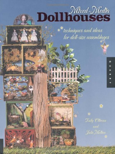 Image OfMixed-Media Dollhouses (English Edition)