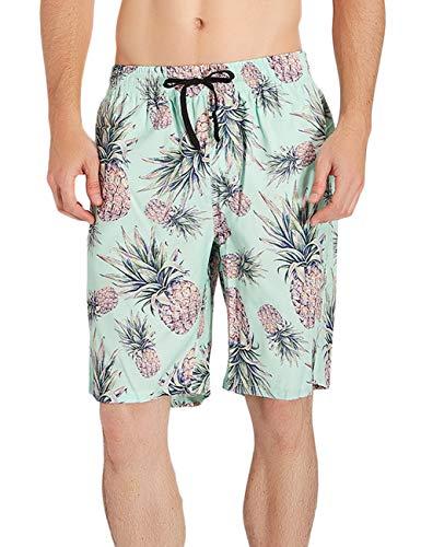 AIDEAONE AIDEAONE Jungen Sommer Badeshorts Beach Shorts Badehosen Bademode Schwimmhose Boxer Badepants XXL