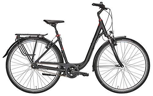 ZEG Pegasus Solero SL 7 Damenfahrrad Deep Cityrad 2020, Farbe:schwarz, Rahmenhöhe:49 cm