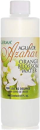 Germa Orange Blossom Water, Relaxing & Sweet Fragrance, Perfect as Skin Toner, Body